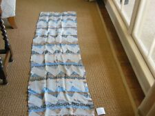 Tolani Zig Zag Linen Cotton Scarf NWT