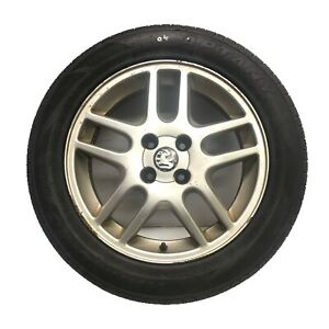 "Vauxhall Astra Genuine 16"" SRi Twin Spoke 4-Stud Alloy Wheel & 2mm Tyre #04"