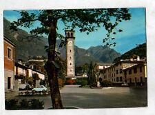 CHIAVENNA (ITALIE) FIAT sur Place ST. FRANCOIS D'ASSISE ,CLOCHER HORLOGE en 1972