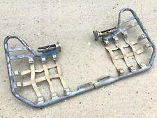 1988 Suzuki LT250R Nerf Bars with Foot Rest Pegs LT 250 Quadracer