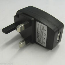 Universal Wall / Main to USB adaptor. AC 110-240V to 5V 1A. UK type..Ref 738<IC>
