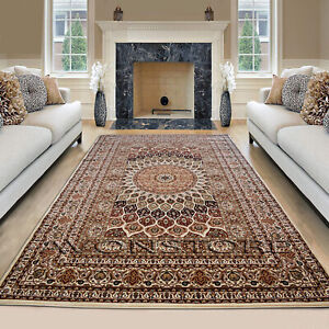 Traditional Oriental Non Slip Rug Almas High Quality Thick Soft Rug Small XLarge