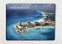 """SOUVENIR FROM CANCUN, MEXICO #2 FRIDGE MAGNET 3"""" x 4""""-brr8Z"""