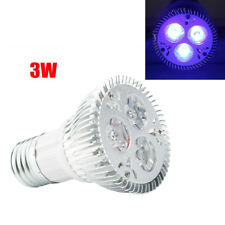 E27 Ultraviolet UV Light Bulb 3W Sterilization  Lights Germicidal Lamp Bulb