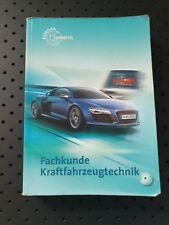 Fachkunde Kraftfahrzeugtechnik | Buch | Zustand gut