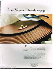 Publicité Advertising 1991 Maroquinerie bagages et accessoires Louis Vuitton