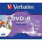 Verbatim DVD+R AZO Wide Printable 4.7 GB, 16 x, Jewel Box