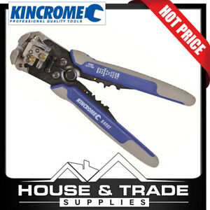 KINCROME Wire Stripper With Crimper Automatic K4001