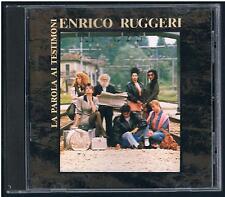 ENRICO RUGGERI LA PAROLA AI TESTIMONI CD NO BARCODE