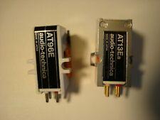 Lot of 2 used Audio-Tecnica Cartridges AT13Ea & AT96E