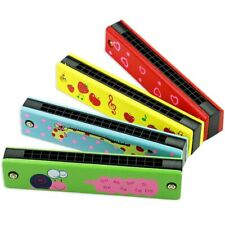 16 Holes Harmonica Mouth Organ Kids Music Instrument Toy Gift