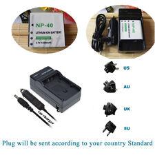 Battery +Charger for Pentax LB-060 AZ361 Pixpro AZ501 AZ510 AZ521 AZ522 AZ526