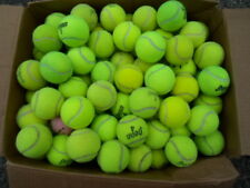 100 Used Tennis Balls Dog Dogs Pet Toys Chairs Desk Walkers - Please Read