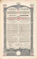 Königreich Galizien u. Lodomerien - Schuldverschreibung 200 Kronen 1893 SELTEN