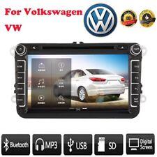 "8"" 2 din Car DVD Player GPS navigazione Bluetooth USB SD Touch per Volkswagen VW"