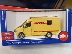 SIKU - FURGONE MERCEDES DHL 1/50 - METAL