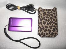 Sony Cybershot DSC-TX66 Purple, Touch Screen.