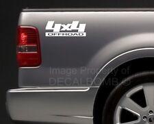 2) 4x4 offroad Bedside Decals Stickers turbo diesel utv atv rzr truck Style #9