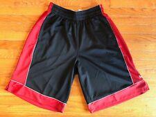 Mens Nike Lebron Basketball Shorts XL Dri Fit Black Red