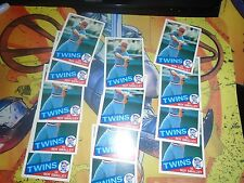 1985 Topps Traded #108 T Roy Smalley Twins lot of 13