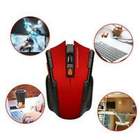 2.4GHz Wireless Cordless Mouse Mice Optical Scroll Computer + For PC USB A0X1