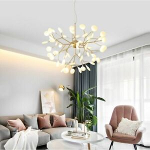 Modern Firefly LED Chandelier Light Stylish Tree Branch Chandelier Lamp Hanging