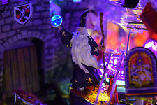 Medieval Madness, Shrek Pinball Machine Lighted Merlin Mod