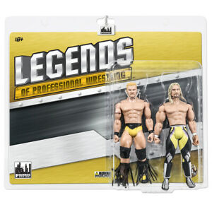 Legends of Wrestling Series Action Figures: Shane Douglas & Jerry Lynn Two-Pack