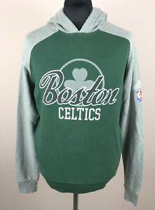 Boston Celtics 2012 ADIDAS Basketball Hoodie Men's Size L NBA Hooded Sweatshirt