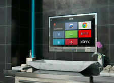 "22"" SARASON Waterproof Bathroom LED Mirror HD  SMART TV Option RRP £599 In Stock"