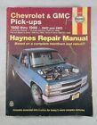 24065 Haynes Repair Manual Chevrolet & GMC Pick-ups 1988 - 1998 Pre Owned