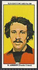BOB CROMPTON SUN-SOCCERCARDS FOOTBALL-#0234 BLACKBURN