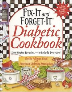 Fix-It and Forget-It Diabetic Cookbook: Slow-Cooke