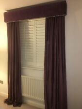 Bespoke Made Curtains And pelmet