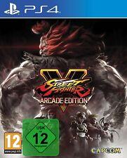 Street fighter 5 V arcade edition-ps4 Playstation 4 Jeu-Neuf NEUF dans sa boîte