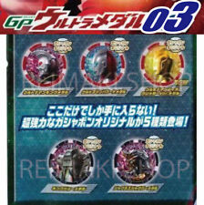 GP Ultra Medal 03 Gashapon original 5P set Ultraman Z