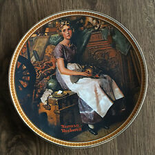 "Rockwell's Rediscovered Women (1981) - ""Dreaming in the Attic� Plate"