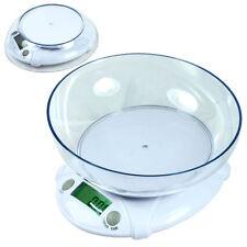 Digital Kitchen Scale 7Kg 15lbs x 1g Diet Bake Food Postal Scale w/ Bowl MA