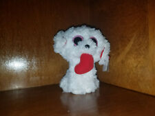AUTHENTIC w/tags Ty Beanie Boo Valentine Dog Honey Bun