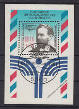 """B I ) Germany 1991 Airmail Exhibition """"LILIENTHAL '91  miniature sheet"""