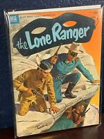 Golden Age LONE RANGER Dell Comic May 1953 Issue #59 Solid Mid-Grade Great Cover