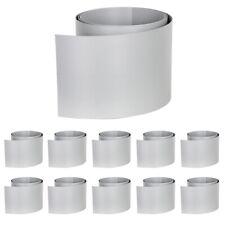 10X Doppelstabmatten Zaun Hart-PVC Sichtschutzstreifen FolieStreifen Windschutz