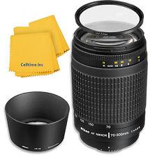 Nikon 70-300mm f/4-5.6G Telephoto Zoom-Nikkor Lens for Nikon D3100, D3200, D3300