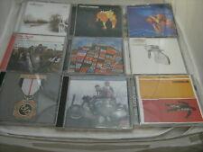 Job lot of 9 CD's. Various Artists Inc, Coldplay,Thrills,Radiohead,St Germain.