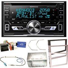 Kenwood DPX-7100DAB DAB+ USB MP3 Einbauset für Opel Vectra Meriva Signum Corsa