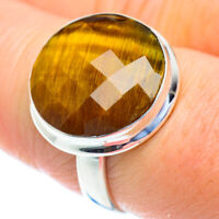 Tiger Eye 925 Sterling Silver Ring Size 8.75 Ana Co Jewelry R52765F