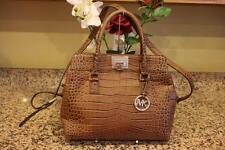 Michael Michael Kors Astrid Large embossed Leather Satchel Bag ($448)  (pu200