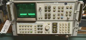 TESTED HP AGILENT 100Hz - 22GHz 8566B OPT 85660B SPECTRUM ANALYZER W DISPLAY