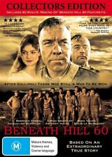 Beneath Hill 60 COLLECTORS  EDITION GENUINE R4 DVD NEW/SEALED AUST TRUE STORY