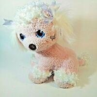 Playskool Pink Poodle 2005 3 Puppies Dog Plush Toy Surprise White
